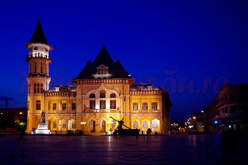 palatul comunal turism buzau