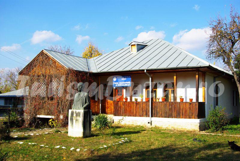 casa memoriala Vasile Voiculescu din Parscov
