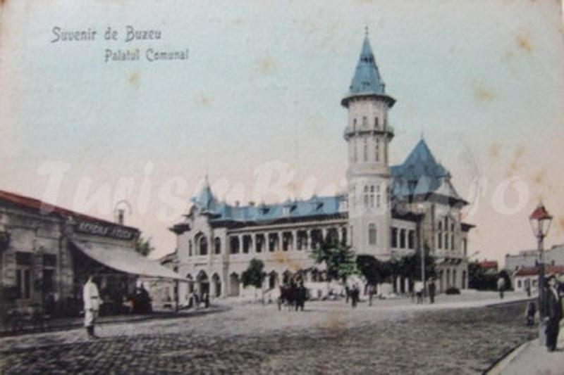 palatul comunal orasul Buzau
