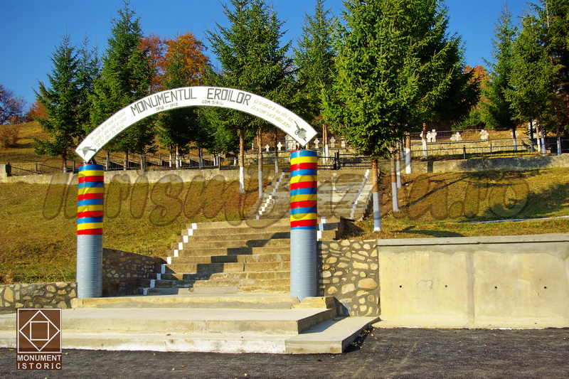 monumentul cimitirul eroilor siriu