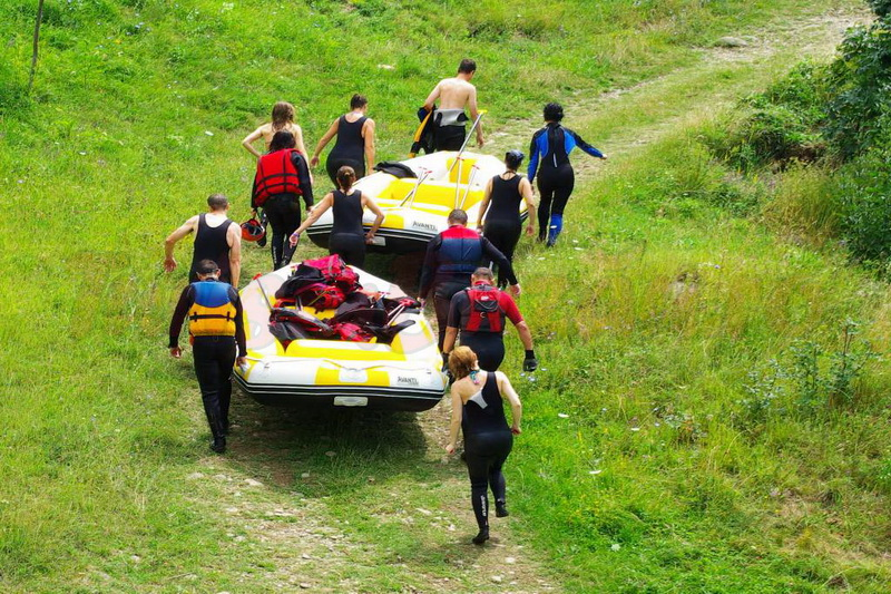 agrement buzau rafting