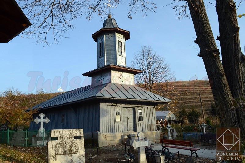 schitul Ciobanoaia, biserica de lemn